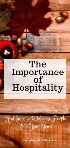 Importance of hospitality Pin template 2 fall theme