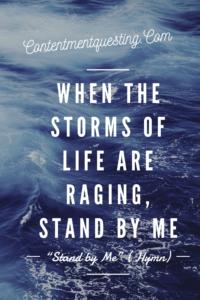 Hymn, encouragement, Storm, God, Help, Going Through Hard Times