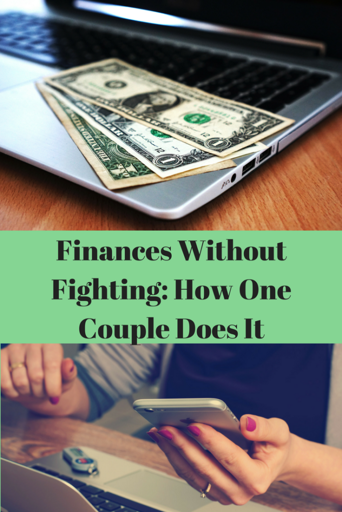 Finances, finances without fighting, communication, frugal, budget, spouse, shared finances, bank account