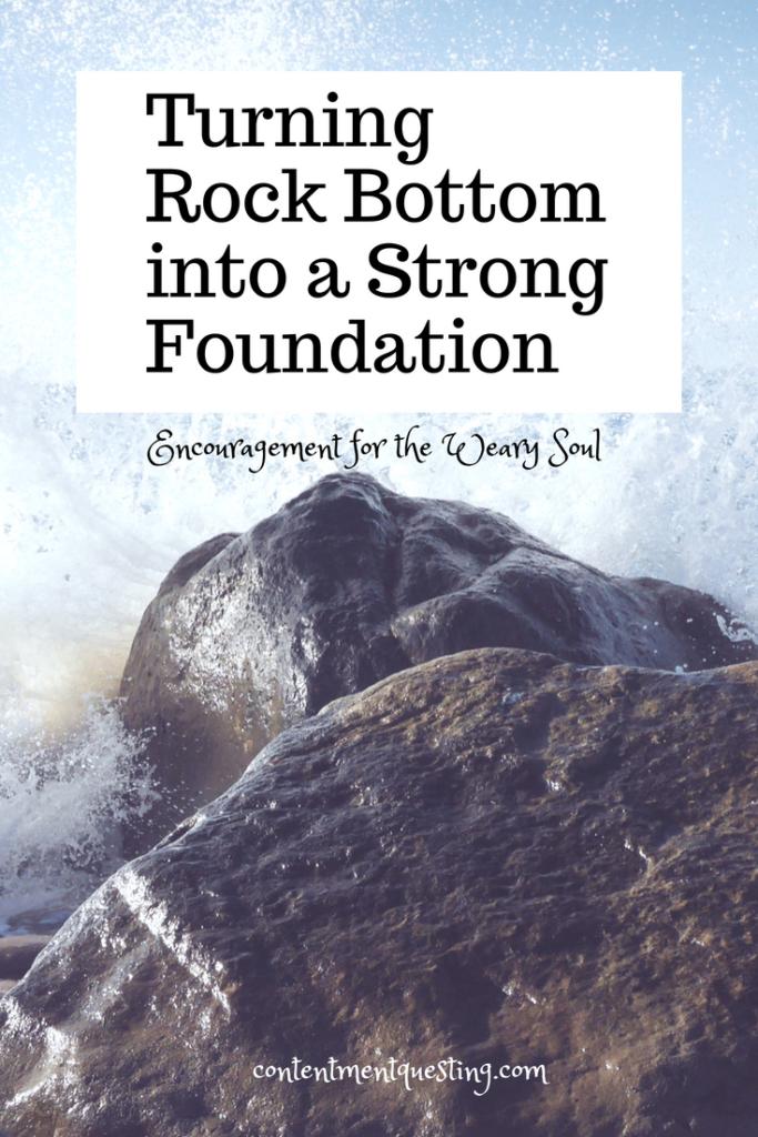 rock bottom, encouragement, inspiration, encouragement, weary soul