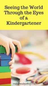 Kindergartener world, Parenting, Fresh Perspective, Mom life, inspiration