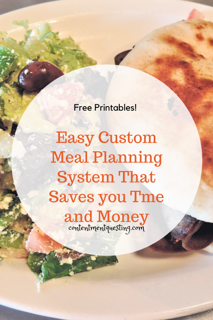 meal plan, meal planning, save time, save money