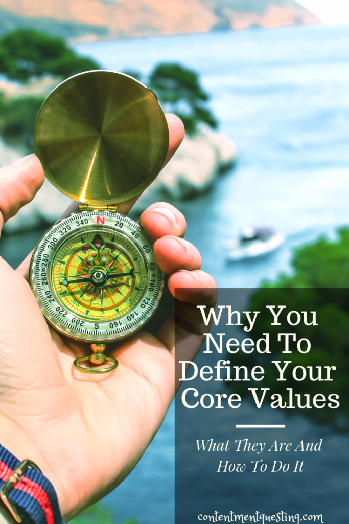 core values, define your core values, important to you, compass, goals, inspirational, get your life together, choices, motivation
