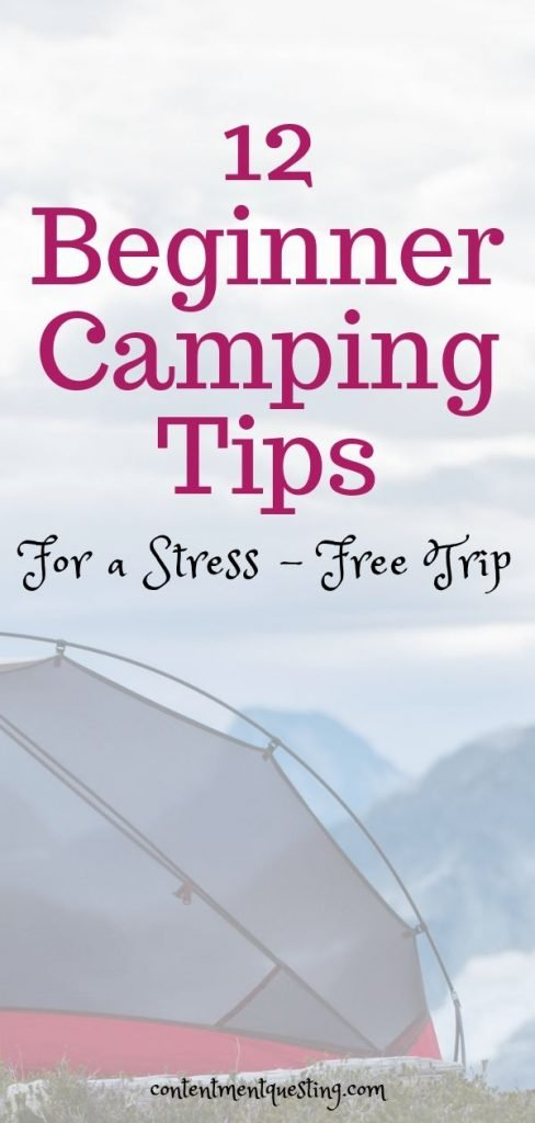 Camping Tips for Beginners Pin 4