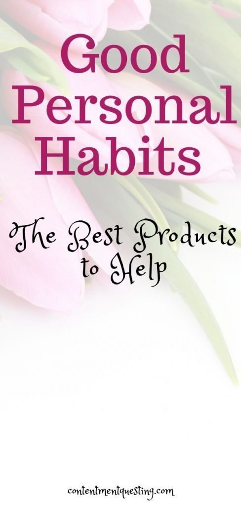Products for good personal habits pin 4