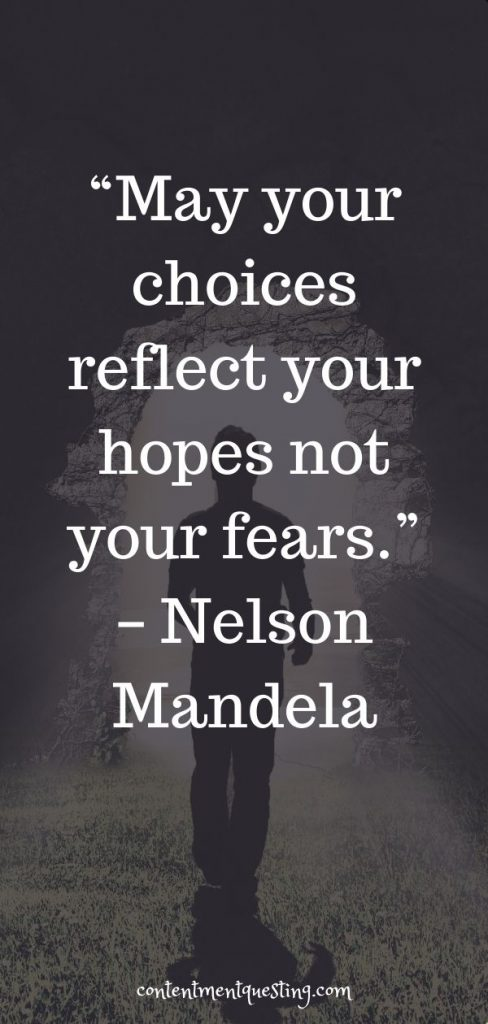 reflect hopes not fears quote nelson mandela