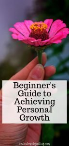 Beginners guide to achieving personal growth pin image 1 title