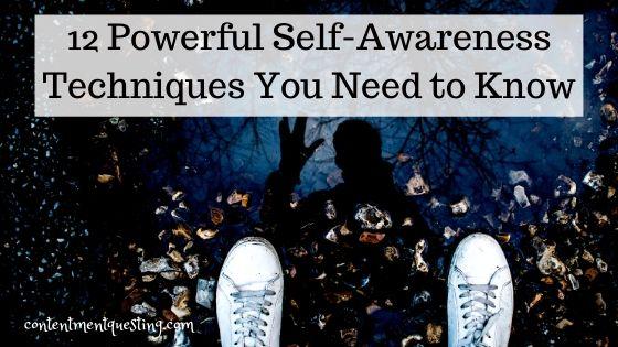 self awareness techniques blog banner