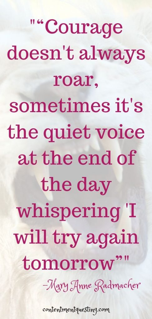 importance of never giving up quote  whispering